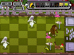 Monster's lawn game
