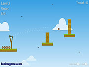 Play The king of slingshot Game