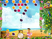 Play free game Bubble FruitTail
