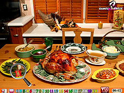 玩免费游戏 Turkey Food HN