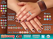 Play Beauty nail design Game