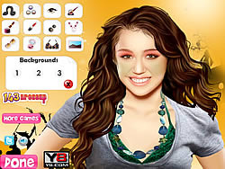 Miley Cyrus Celebrity Makeover game