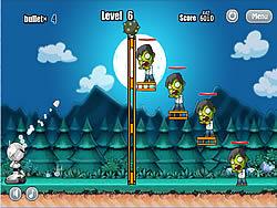 Robot vs Zombies game
