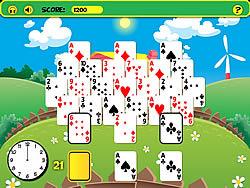 Frantic Farm Solitaire game