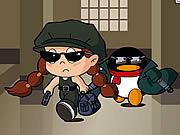 Vea dibujos animados gratis QQ Penguin: Matrix