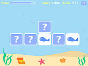 Under The Sea Memory Game game