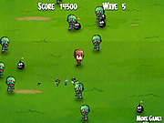 Play Kid n zombies Game