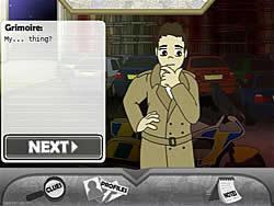 Detective Grimoire παιχνίδι