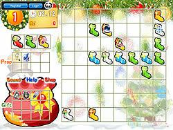 Christmas Lucky Socks game