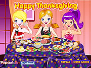 Decorate Thanksgiving Dinner game