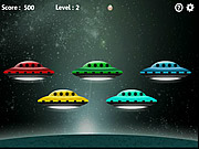 Chơi trò chơi miễn phí Five UFO's