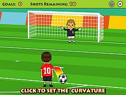 Jouer au jeu gratuit Free Kick