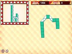 Rubiks Snake game
