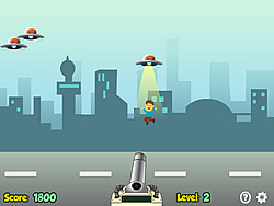 Space Kidnappers game