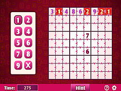 Greater Than Sudoku game