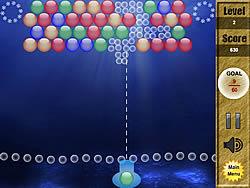 Maglaro ng libreng laro Seabed Bubble