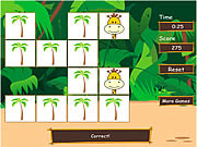 Play Safari matching game Game