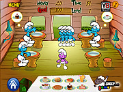 Play Smurf dinner Game