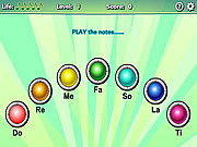 Play Music memory Game