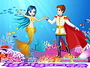Play Little mermaid sweet love Game