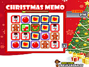 Play Christmas memo Game