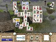 Play Aerial mahjong Game