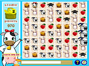 Cows Puzzle game