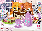 Kitty Tea Party game