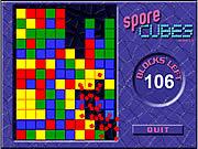 Juega al juego gratis Spore Cubes