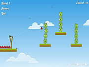 Play Angry birds bad pigs Game