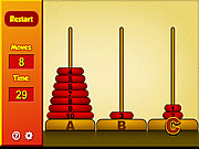 Play Tower of hanoi Game