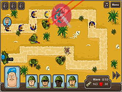 Mexican Zombie Defense game