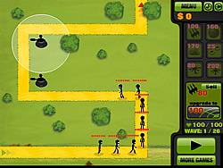 Stickman Tower Defense game