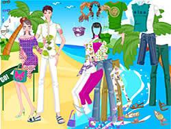 Find Romantic Beach game