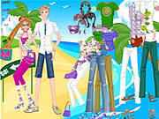Find Romantic Beach game