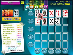 Vegas Poker Solitaire game