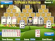 Play Tripeaks reserve Game