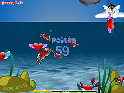 Cupid Catching Fish game