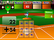 Jugar Batter s up baseball addition Juego