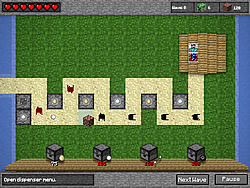 Minecraft Tower Defense game