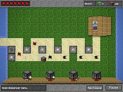 Permainan Minecraft Tower Defense