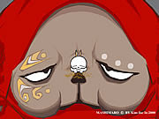 Watch free cartoon Mashimaro Rabbit Episode 7: Godzilla Bugaloo