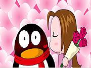 Watch free cartoon QQ Penguin: Rose