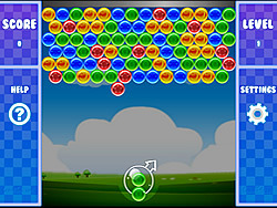 Puzzle Bubble game