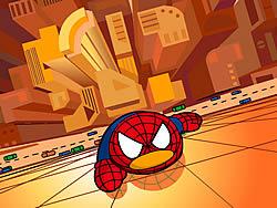 Watch free cartoon QQ Penguin: Spiderman