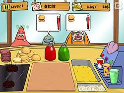 Gioca gratuitamente a Spongebob Patty Dash