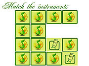 Play Memory instruments Game
