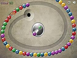 玩免费游戏 Math Bubbles