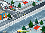 Play Traffic policeman - winter edition Game