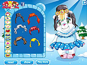 Play Polar bear princess Game